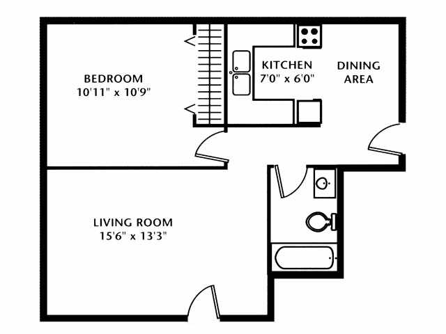 Carriage House 1 Bedroom